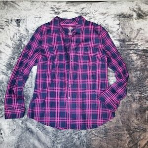 30% Off Bundles St. John's Bay Pink & Blue Plaid B